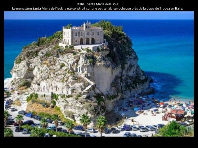 Italie : Santa Maria dell'Isola  Le monastère Santa Maria dell'Isola a été construit sur une petite falaise rocheuse près ...