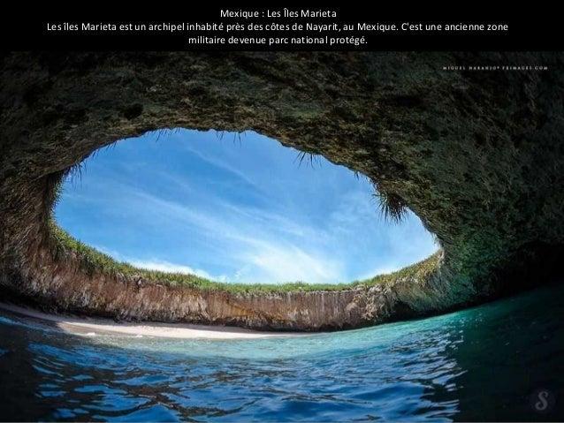 Mexique : Les Îles Marieta  Les îles Marieta est un archipel inhabité près des côtes de Nayarit, au Mexique. C'est une anc...