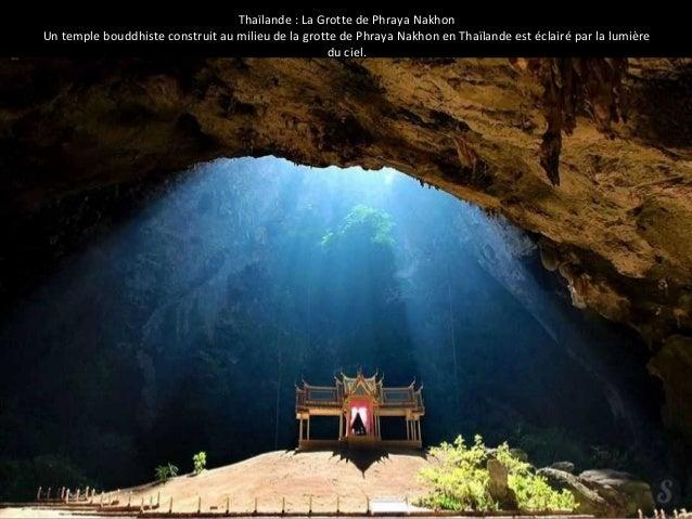 Thaïlande : La Grotte de Phraya Nakhon  Un temple bouddhiste construit au milieu de la grotte de Phraya Nakhon en Thaïland...