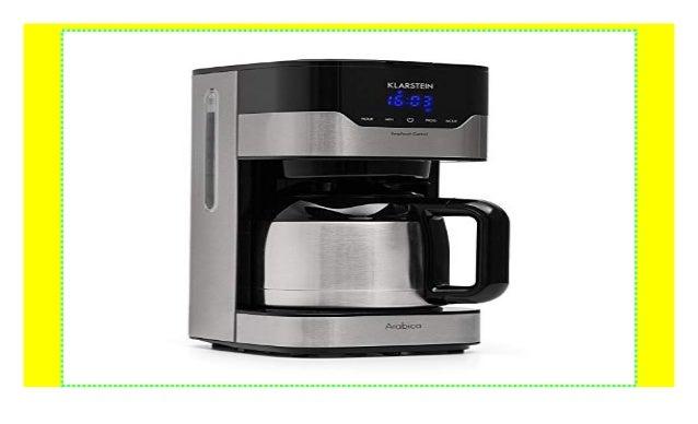 klarstein kaffeemaschine arabica mit filter filter kaffeemaschine