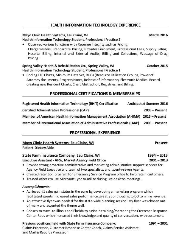 Posted Resume - Tina Nigbor