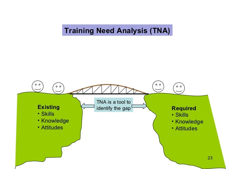 Training Needs Analysis 350