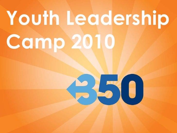 Youth Leadership Camp 2010