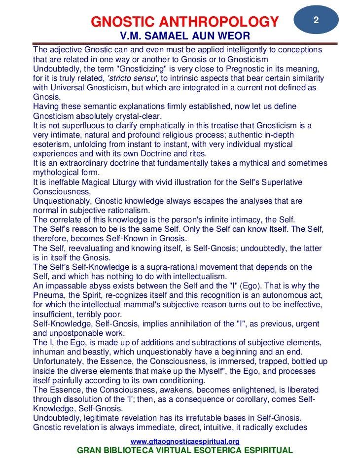 35 12 gnostic anthropology samael aun weor www gftaognosticaespiritua…