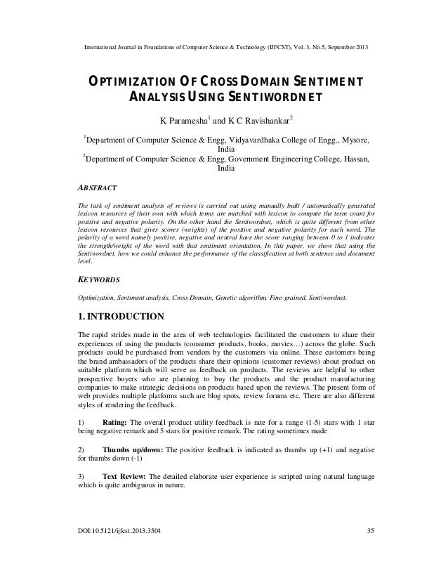 International Journal in Foundations of Computer Science & Technology (IJFCST), Vol. 3, No.5, September 2013 DOI:10.5121/i...
