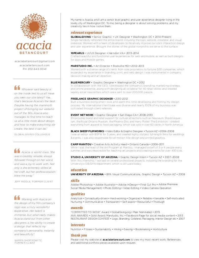 Acacia Betancourt Resume 2016