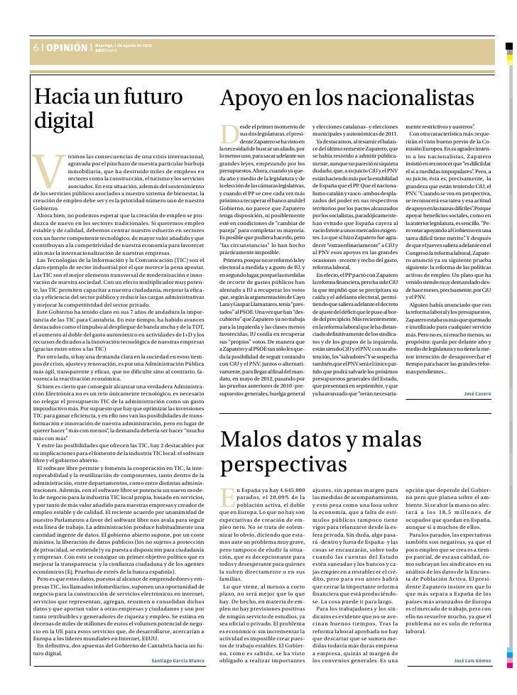 Hacia un Futuro Digital - Aqui Diario Tribuna - Santiago Garcia