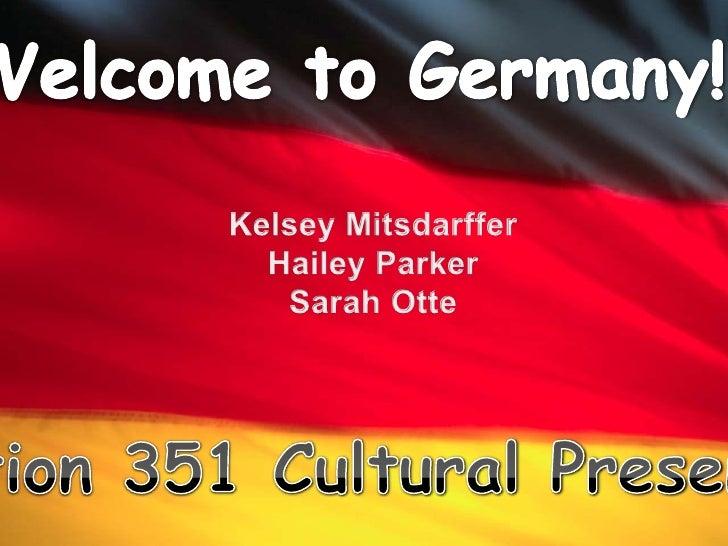 351 Cultural Presentation