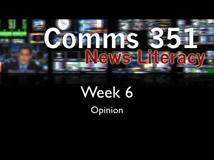 Comms 351 lecture6
