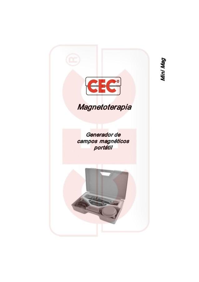 Magnetoterapia Generadorde camposmagnéticos portátil MiniMag