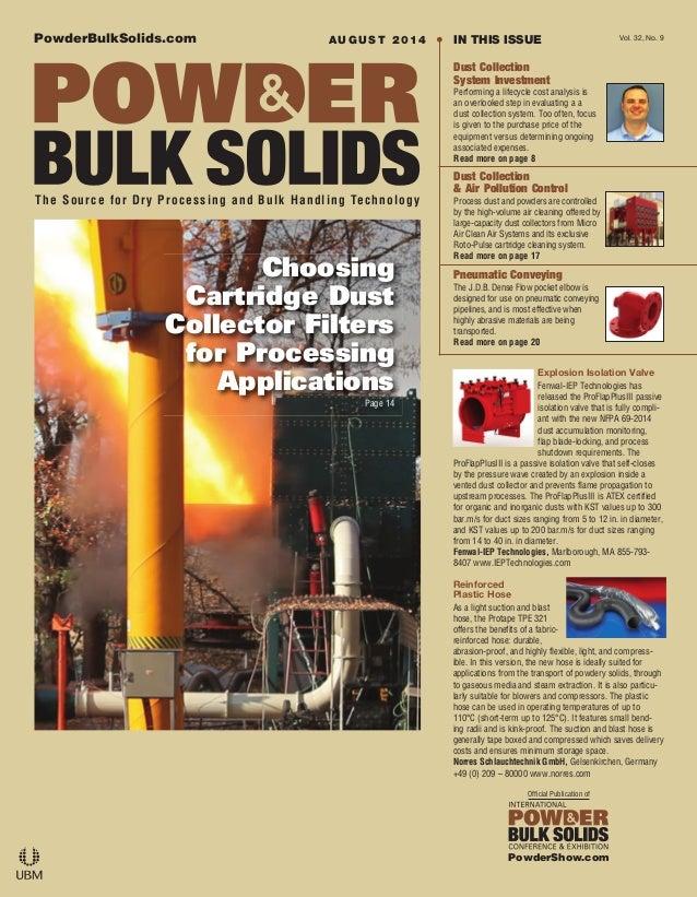 PowderBulkSolids.com The Source for Dry Processing and Bulk Handling Technology Official Publication of PowderShow.com Vol...