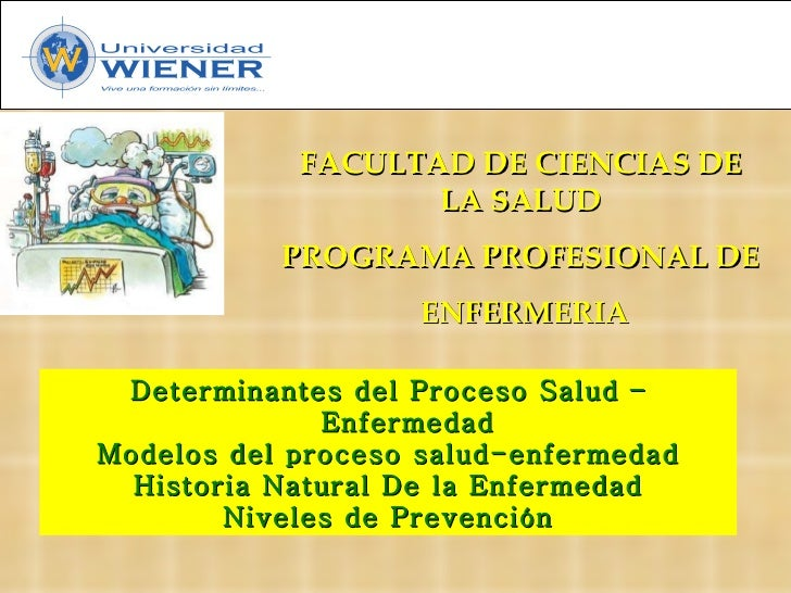 Determinantes del Proceso Salud – Enfermedad Modelos del proceso salud-enfermedad Historia Natural De la Enfermedad Nivele...