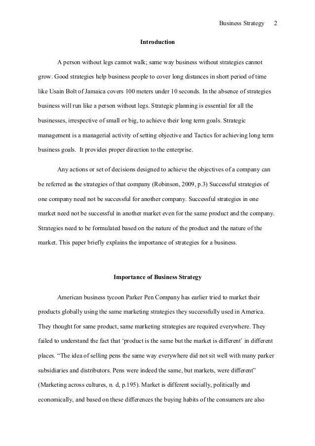 Business essay Slide 2