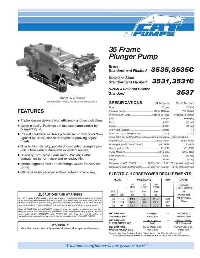3535 cat pumps