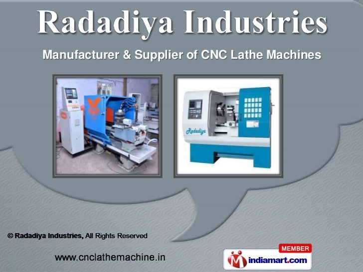 Manufacturer & Supplier of CNC Lathe Machines
