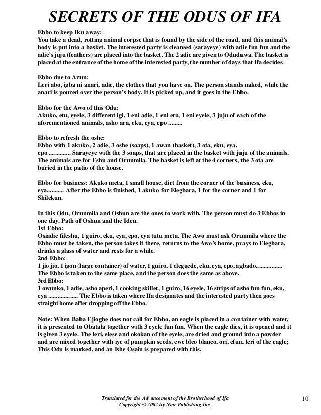 Odu Ifa Divination Related Keywords & Suggestions - Odu Ifa