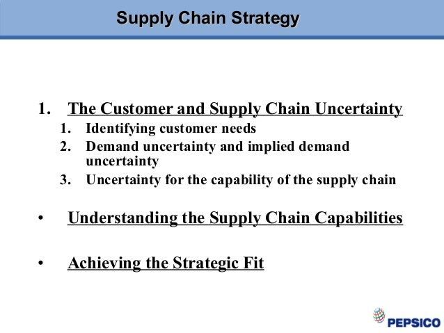 demand and supply of pepsi But this segment has a much more complex supply chain pepsico had to take a new approach to supply a practical approach to supply chain resilience: the pepsico if pepsico is willing to allow less production of some skus to secure capacity for the skus with unexpectedly strong demand.