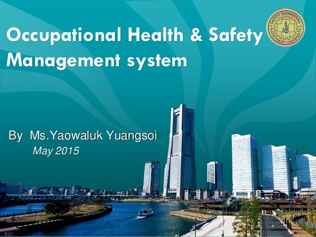 Occupational Health & Safety Management System 01