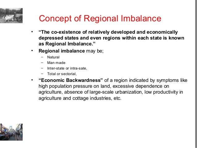 regional imbalance definition