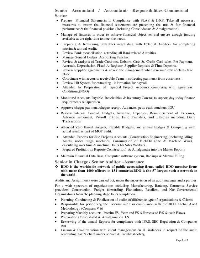 Luxury Ngo Accounting Resume Motif - Resume Ideas - bayaar.info