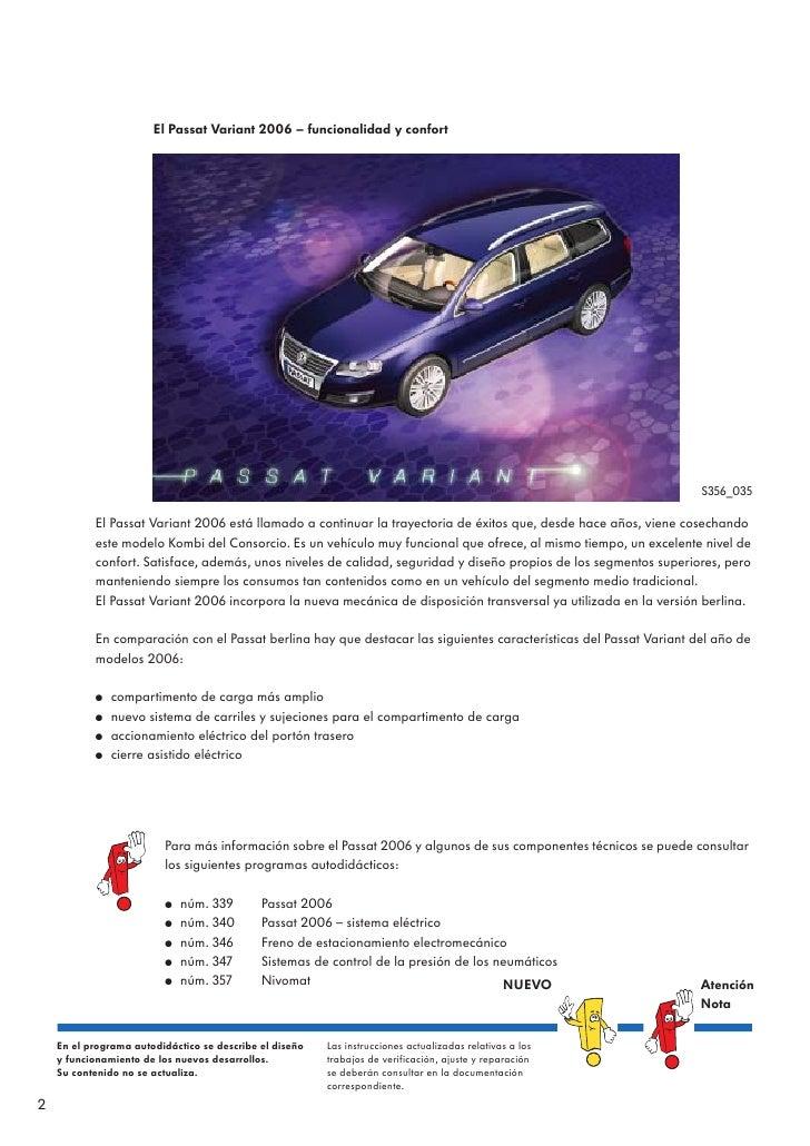 356 passat variant 2006 pdf rh es slideshare net Volkswagen Passat Variant Wagon Volkswagen Passat Variant Wagon