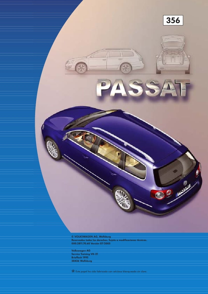 Service Manual Vw Passat B6 Afs Inoperative See Owners