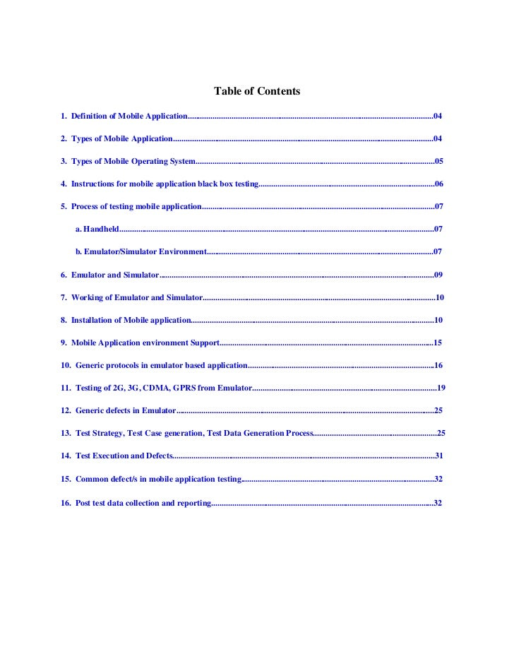 TableofContents1.DefinitionofMobileApplication........................................................................