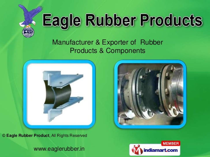 Manufacturer & Exporter of  Rubber <br />Products & Components<br />