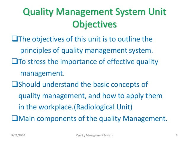 objectives of an effective management system Information security management objectives and practices: a parsimonious framework qingxiong ma department of computer information systems, university of central missouri.