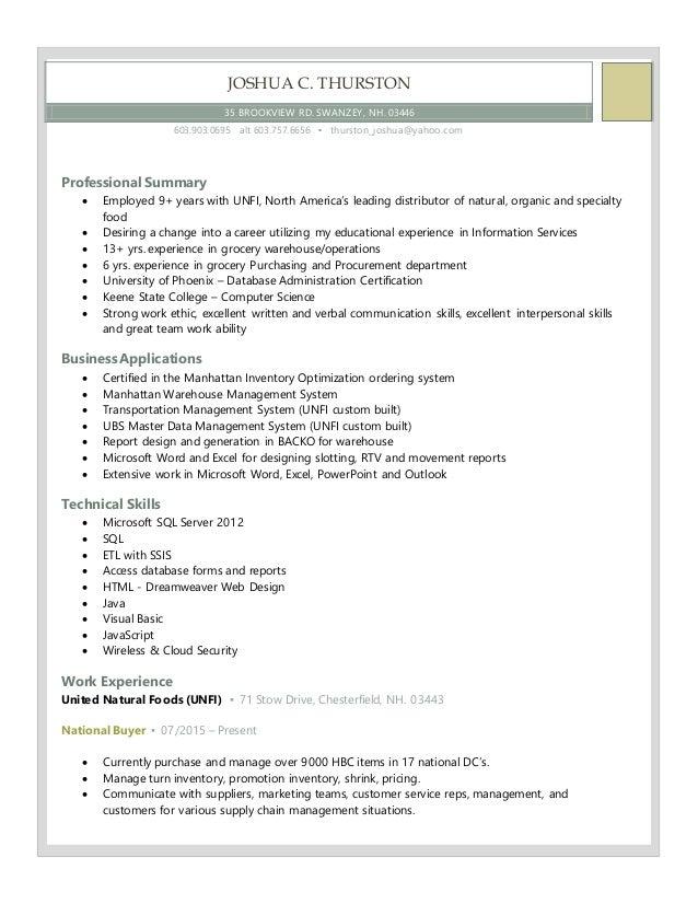 Customer Service Retail Resume Pdf Resume  How To Write A Work Resume Excel with Home Health Nurse Resume Word Resume  Joshua C Thurston  Brookview Rd Swanzey Nh Printable Resumes Pdf
