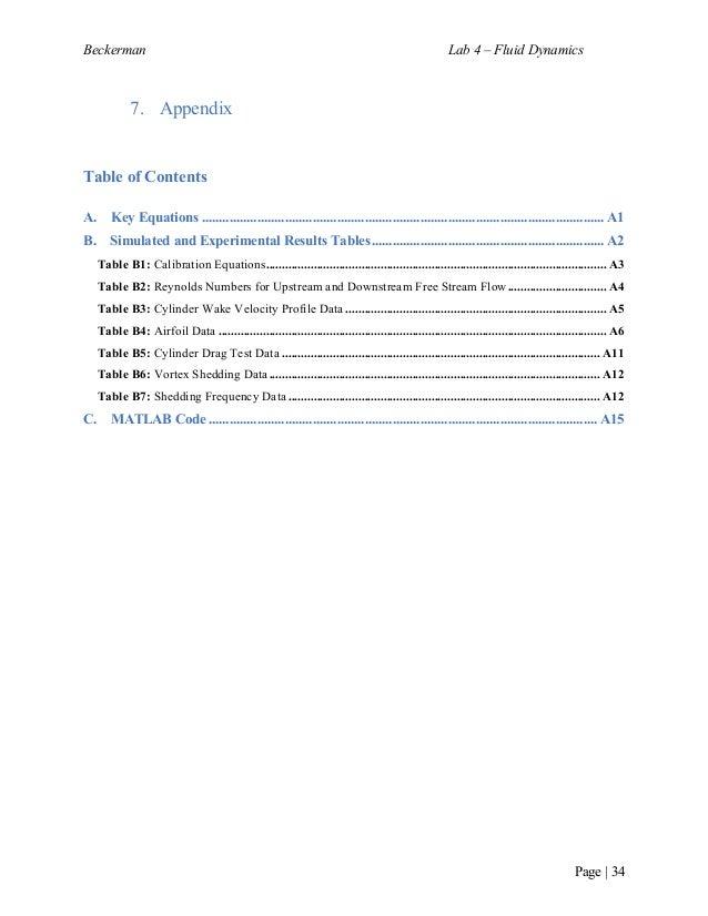 Joshua Beckerman Lab 4 – Fluid Mechanics Final Write-Up