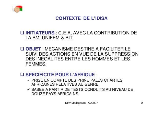 dr_idisa-mada_22apr07_french_ppt mode de compatibilit Slide 2
