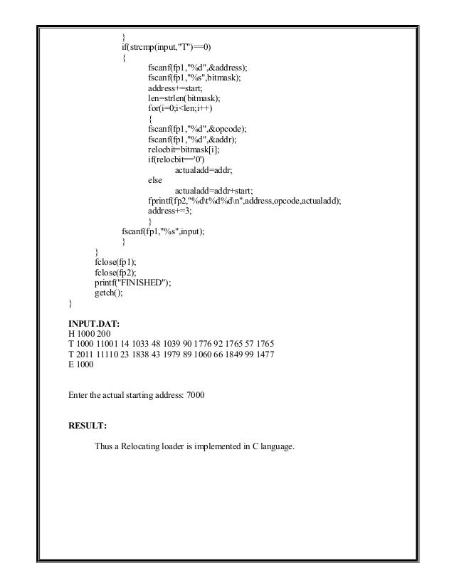 35787646 system-software-lab-manual