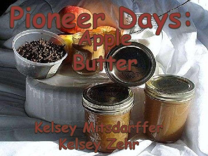357 Pioneer Days