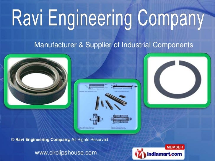 Manufacturer & Supplier of Industrial Components<br />