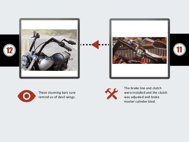 Install New Handlebars For Harley Davidson Or Custom Chopper