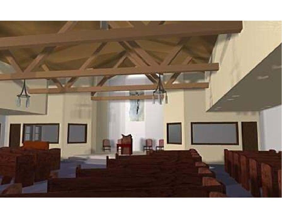 St Columbia Church-Pews