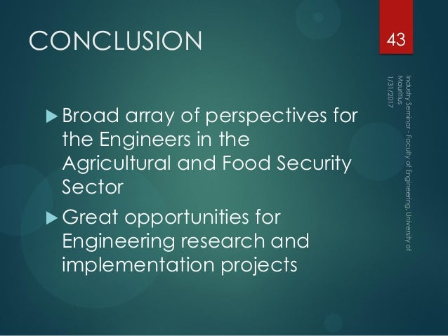 The role of agricultural sector as