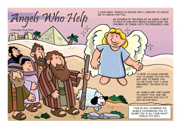 "Angels Who Help A message from Jesus I have many angels in heaven who I created to assist Me in caring for you. ""I send an..."