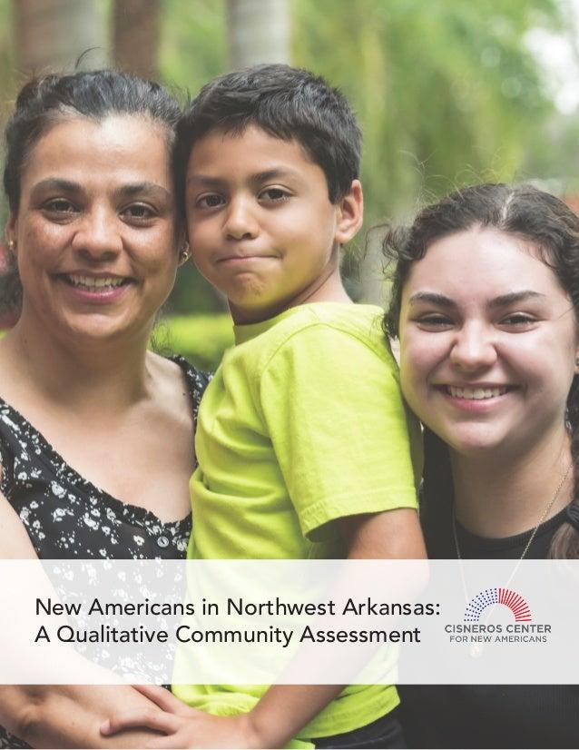 New Americans in Northwest Arkansas: A Qualitative Community Assessment