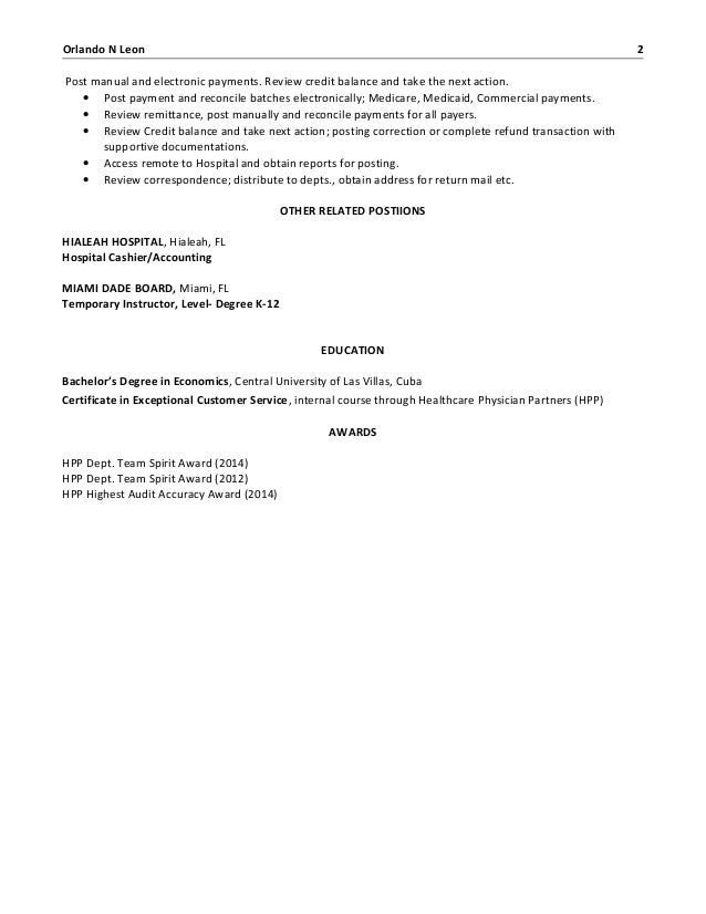 Luxury Orlando Accounting Resume Gallery - Administrative Officer ...