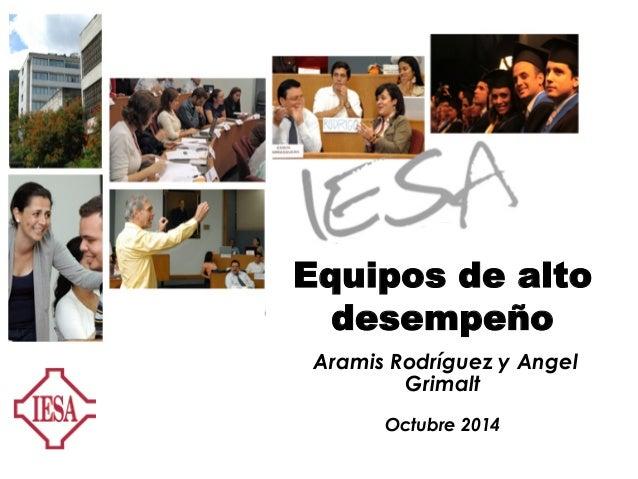 Monteferrante Slide 1 LOS LÍDERES NACEN Se hacen Patricia Monteferrante Equipos de alto desempeño Aramis Rodríguez y Angel...