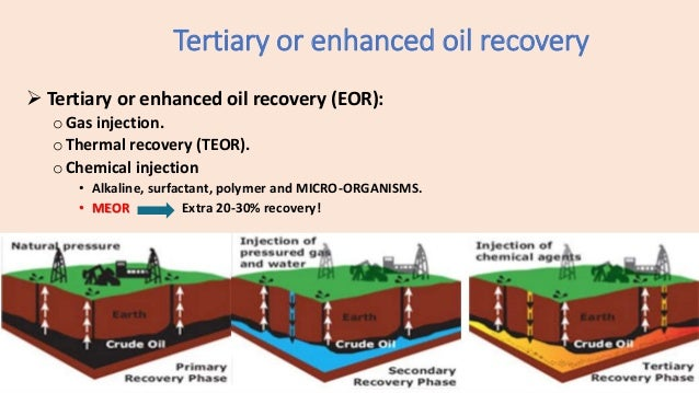 Storing oil on farms