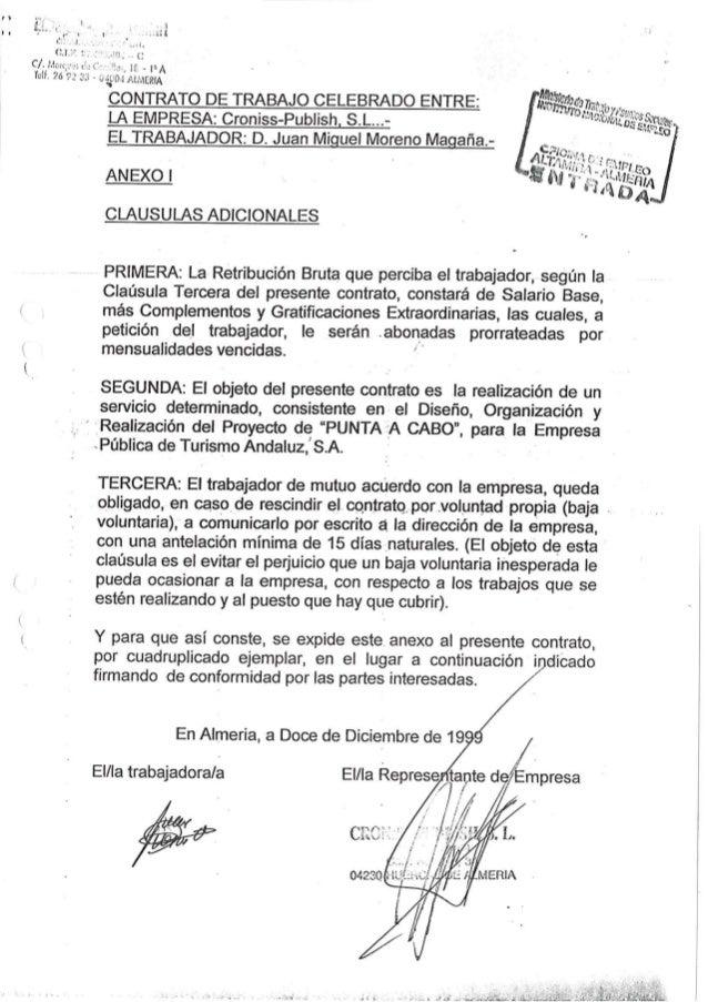 35 contrato de trabajo empresa  cronish publish, s.l