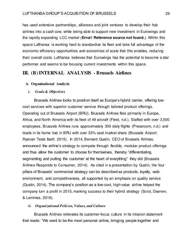 vrio lufthansa Analysis the internal & external factors of the aviation industry.