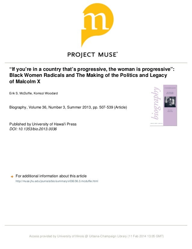 If youre in a country thats progressive the woman is progressive
