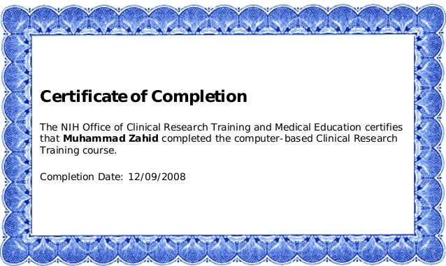 Nih Clinical Research Training