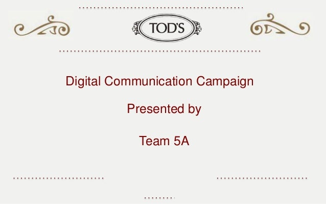 Digital Communication Campaign Presented by Team 5A