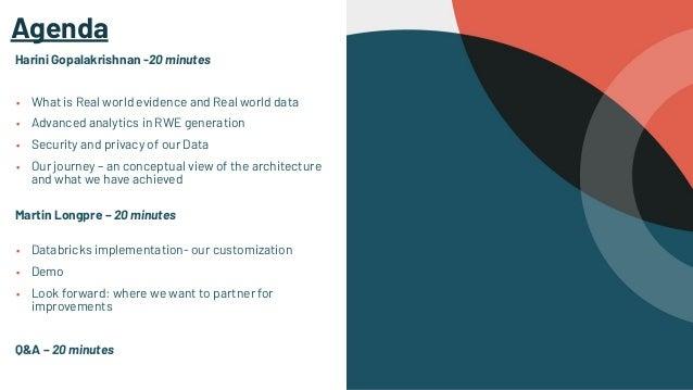 RWE & Patient Analytics Leveraging Databricks – A Use Case Slide 3