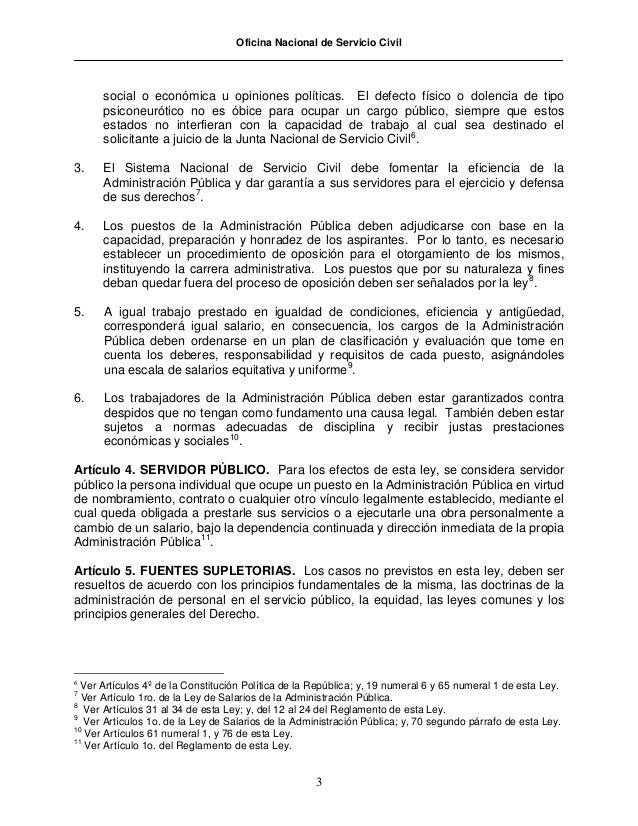 35 ley de servicio civil